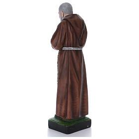 Padre Pio statue en résine 110 cm s3
