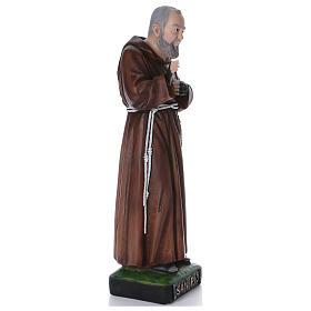 Padre Pio statue en résine 110 cm s4