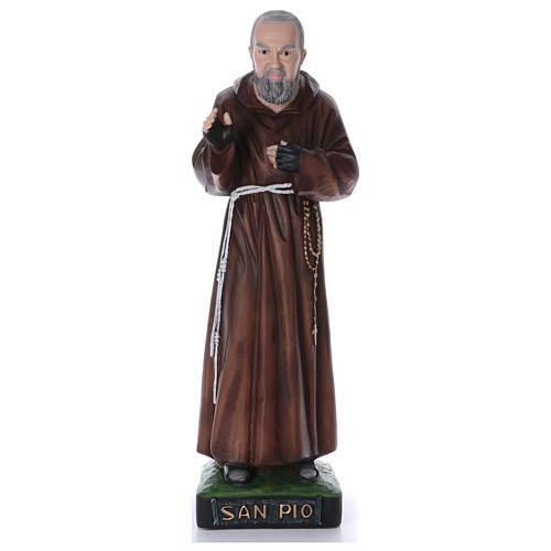 Padre Pio statue en résine 110 cm 1