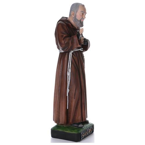 Padre Pio statue en résine 110 cm 4