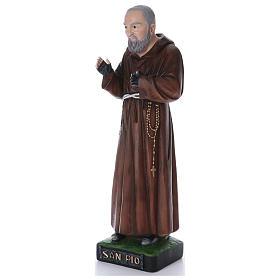Padre Pio statua in resina 110 cm s2