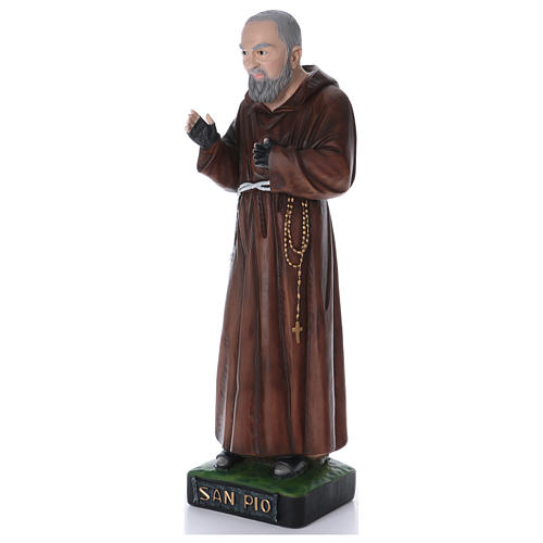 Padre Pio statua in resina 110 cm 2