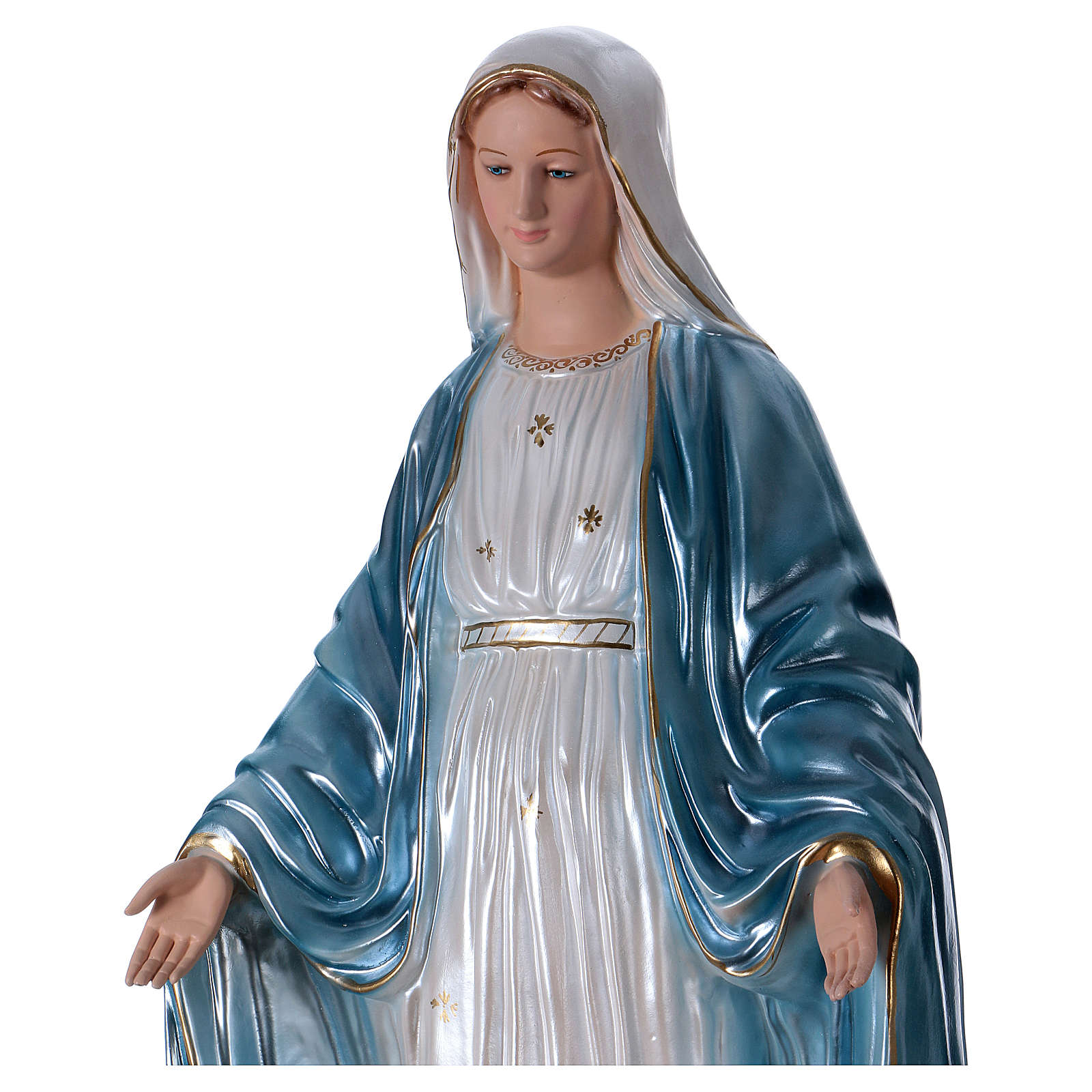 Statue of Our Lady of Miracles in resin 80 cm 4
