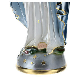 Statue of Our Lady of Miracles in resin 80 cm s6
