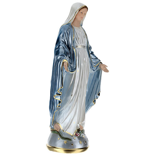 Statue of Our Lady of Miracles in resin 80 cm 5