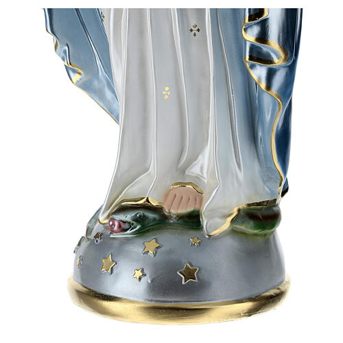 Statue of Our Lady of Miracles in resin 80 cm 6