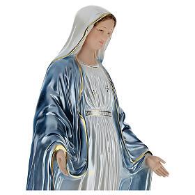 Estatua Virgen Milagrosa 80 cm resina s4