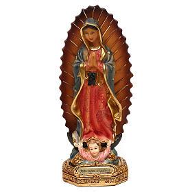Nostra Signora Guadalupe 15 cm resina  s1