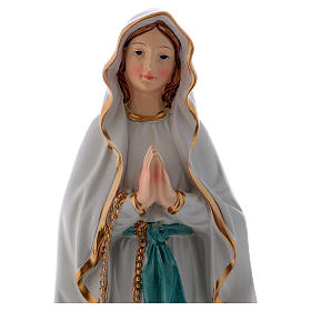 Our Lady of Lourdes Resin Statue 22 cm s2