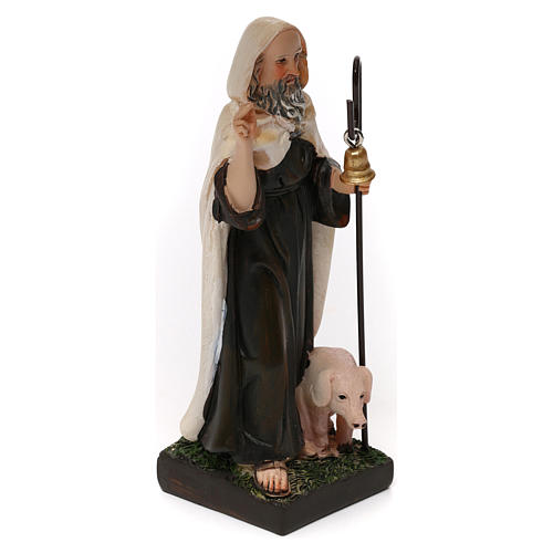 St. Anthony the Abbot statue in resin 12 cm 3