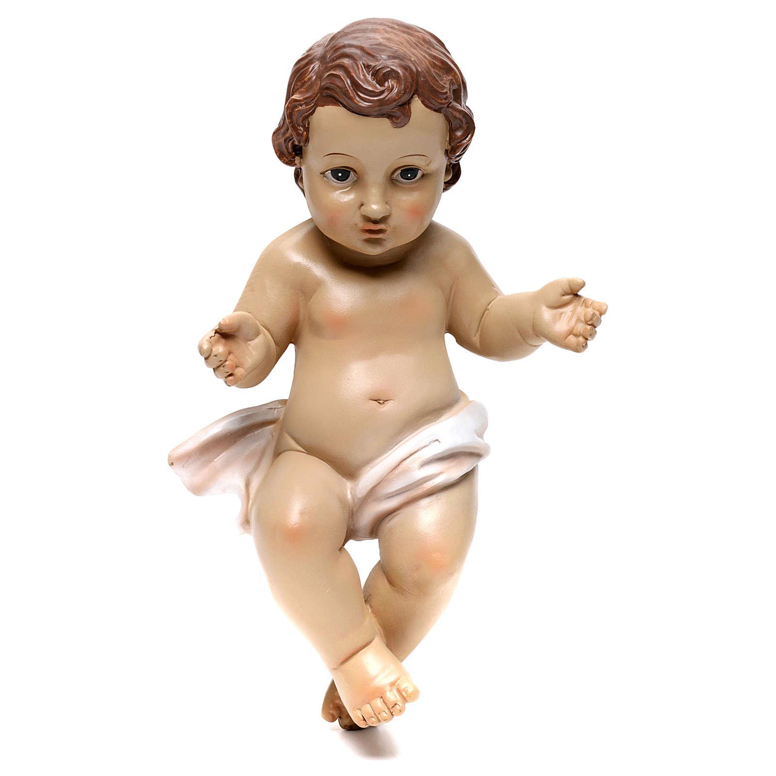 Baby Jesus figurine, 26 cm in resin 3