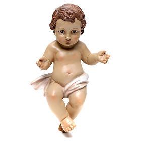 Baby Jesus figurine, 26 cm in resin s1