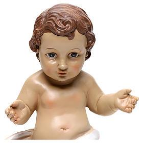 Baby Jesus figurine, 26 cm in resin s2