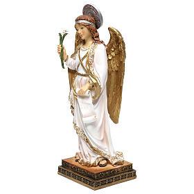 Archange Gabriel 40 cm résine peinte s3