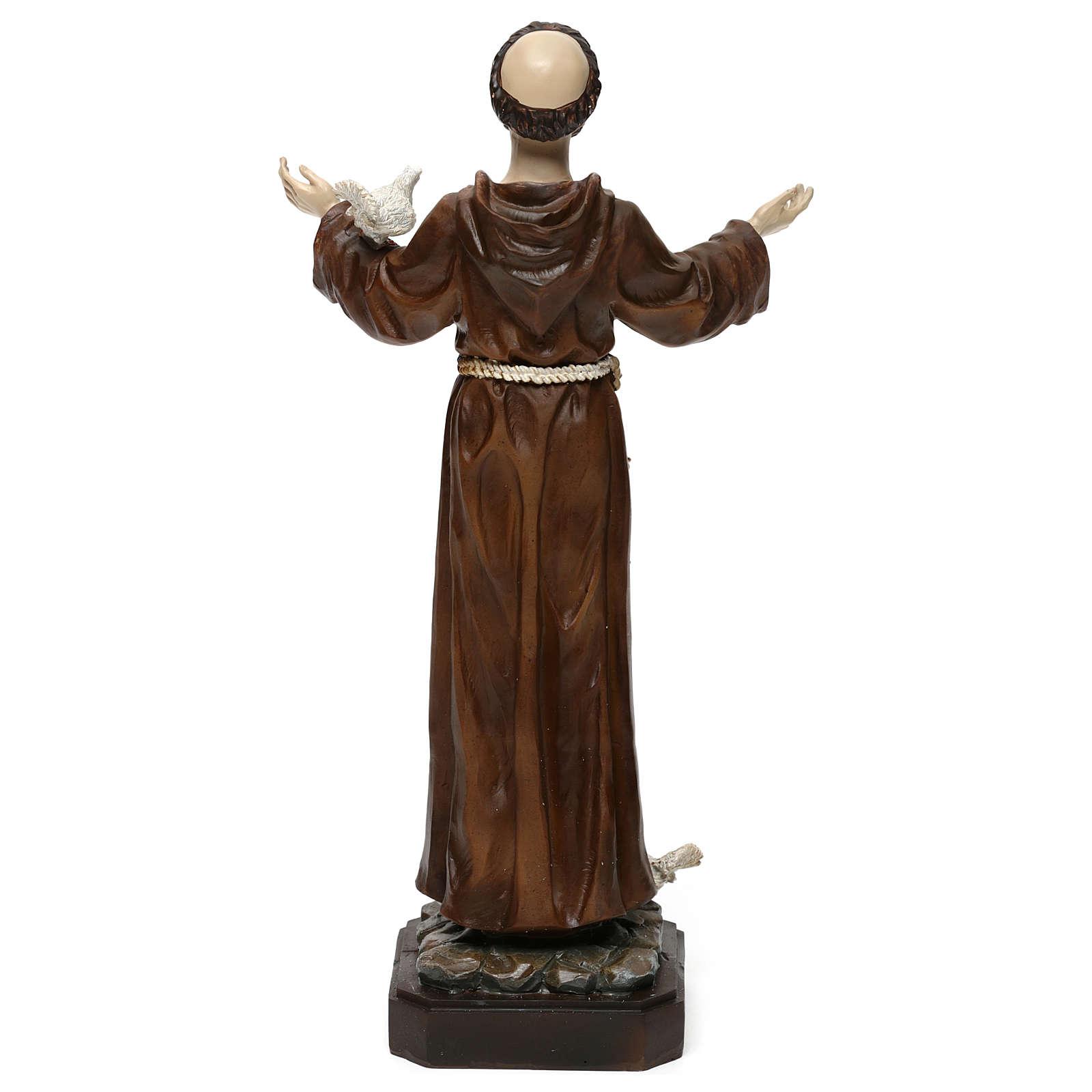 San Francisco h 30 cm estatua de resina 4