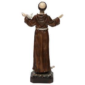 San Francesco h 30 cm statua in resina s5