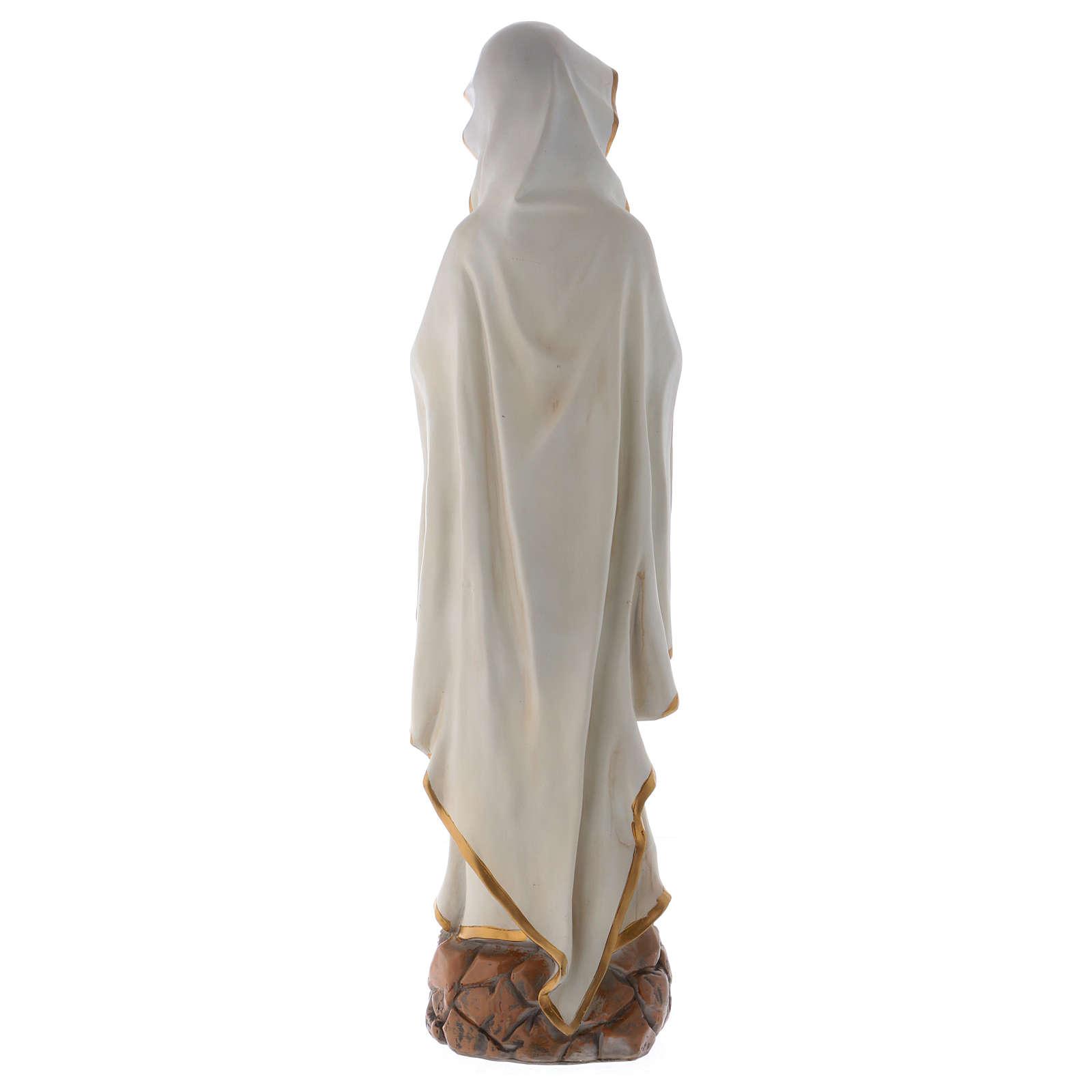 Notre-Dame de Lourdes 75 cm statue en résine 4