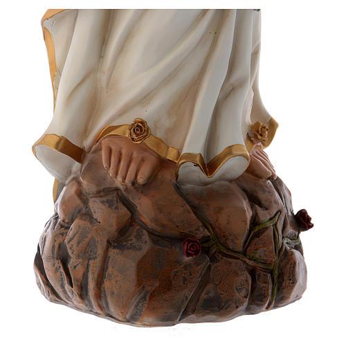 Notre-Dame de Lourdes 75 cm statue en résine 5