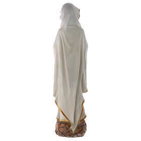 Our Lady of Lourdes 75 cm Statue in resin s6