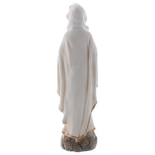 Nossa Senhora Lourdes 20 cm imagem resina 5