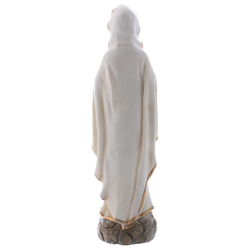 Lourdes Virgin Mary 20 cm Statue in resin 5
