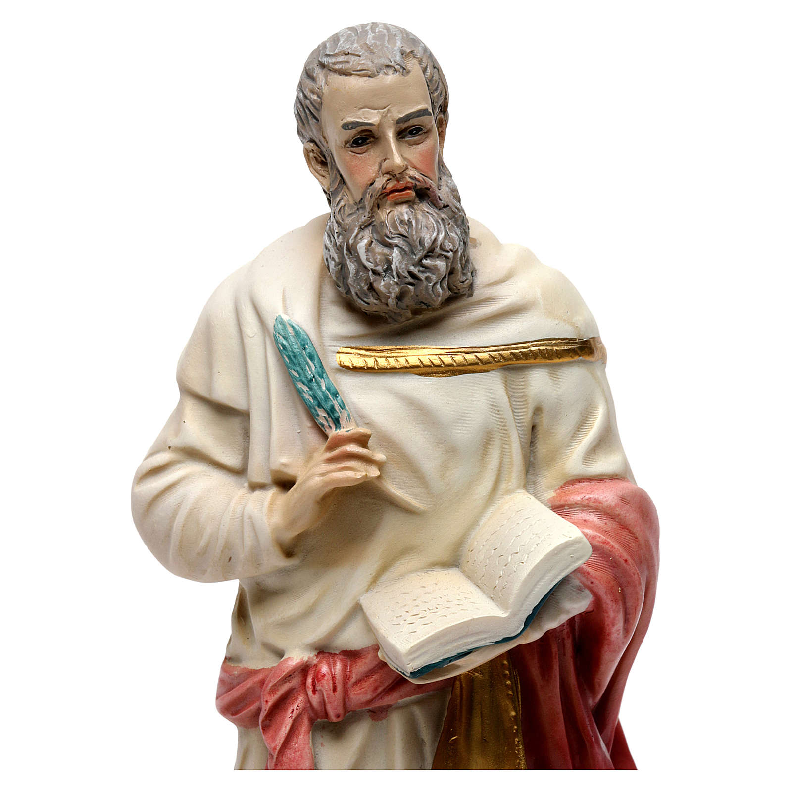 St. Mark the Evangelist statue in resin 20 cm 4