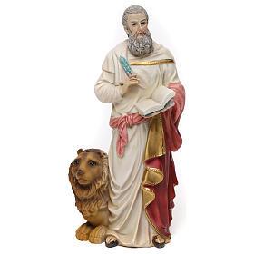 Statue résine Saint Marc Évangéliste 20 cm s1