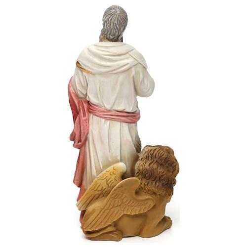 Statua resina San Marco Evangelista 20 cm  5