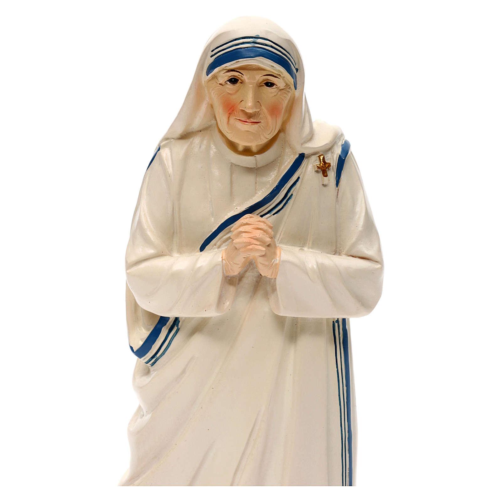 Statua resina Madre Teresa di Calcutta 20 cm 4