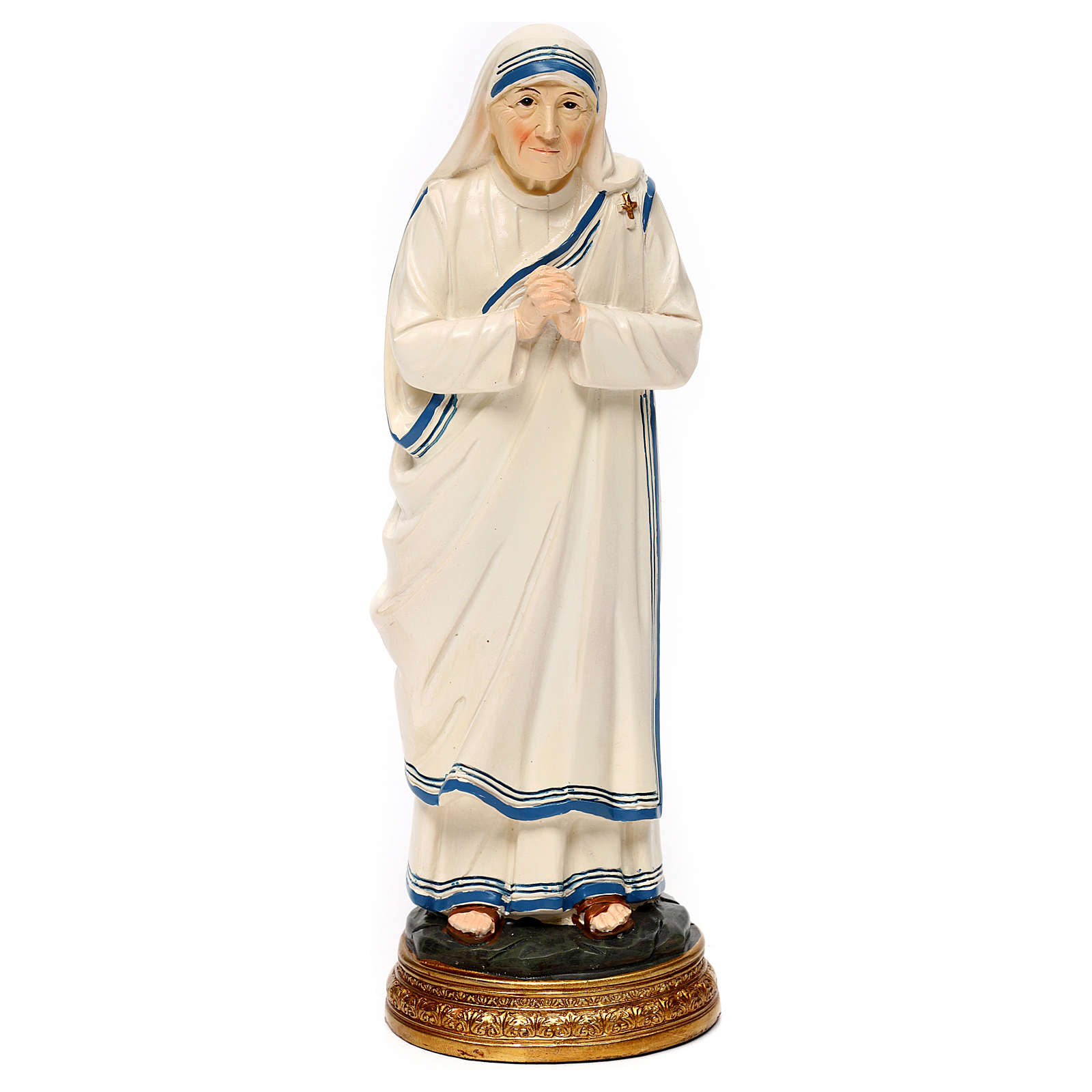 Mother Teresa of Calcutta Statue, 20 cm in resin 4