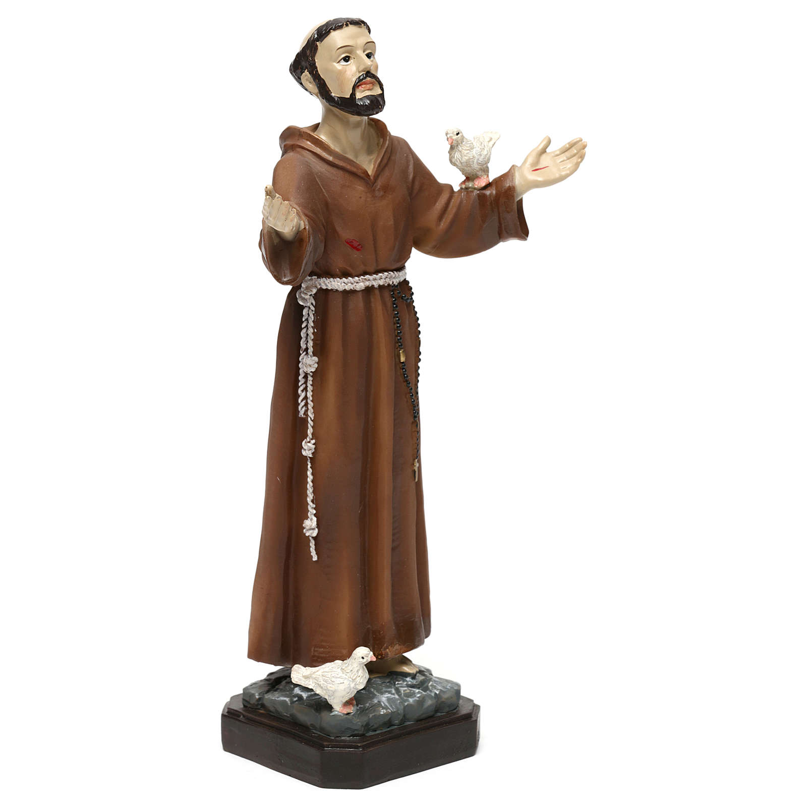 St. Francis statue in resin 20 cm 4