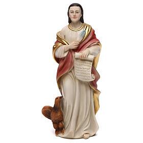 St. John the Evangelist statue in resin 21 cm s1