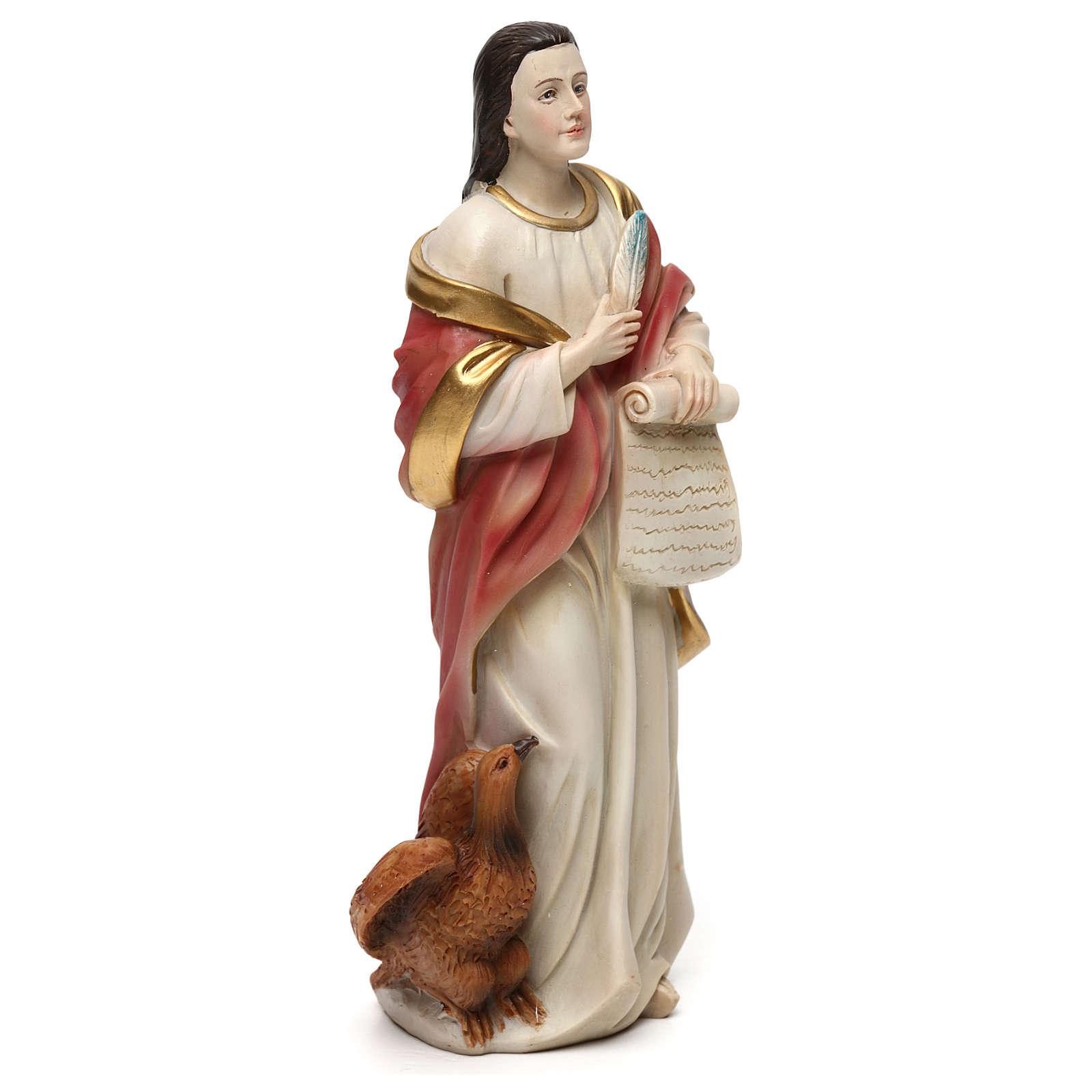 San Juan Evangelista 21 cm estatua resina 4