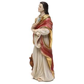 Saint Jean Évangéliste 21 cm statue résine s3