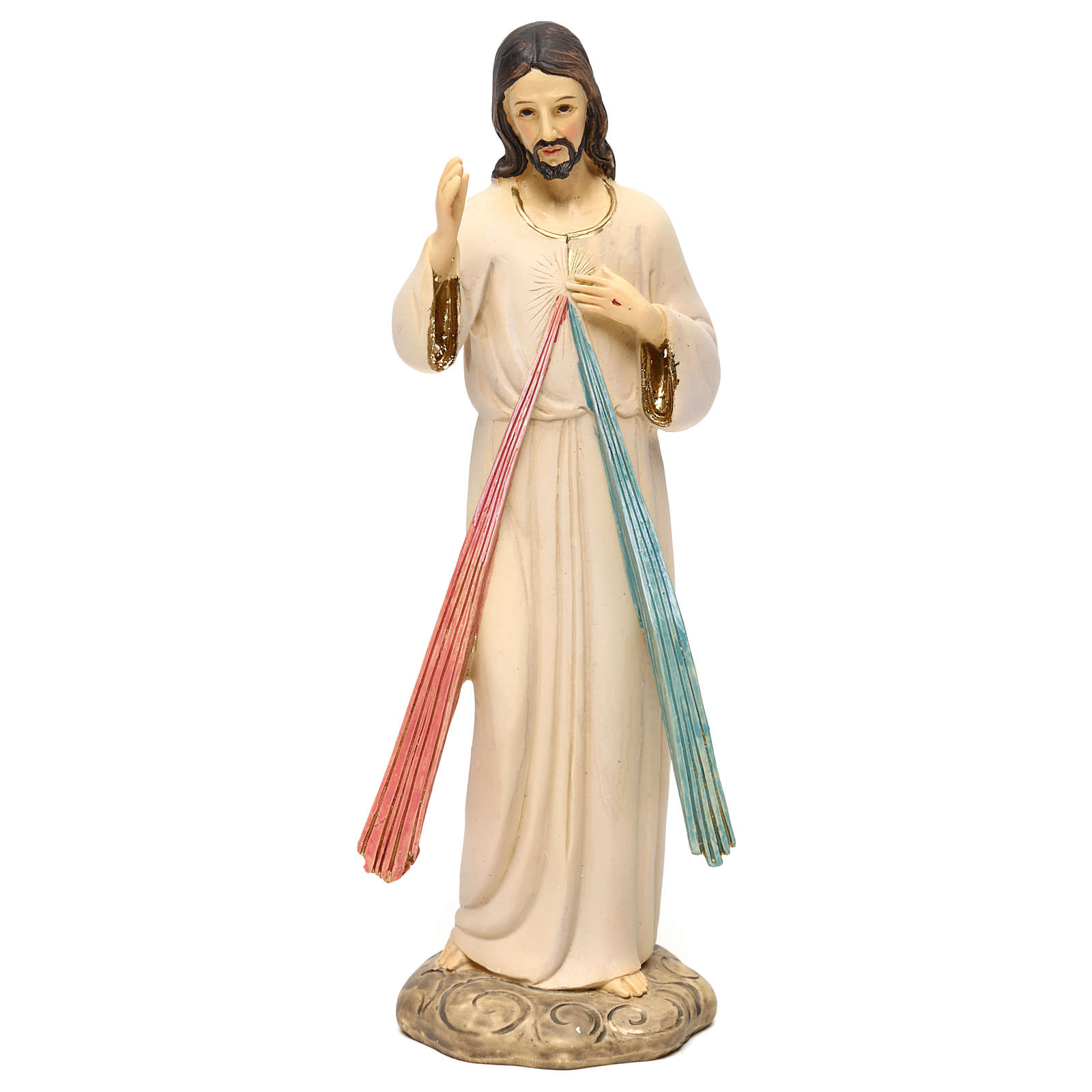 Jesús Misericordioso 21 cm estatua resina 4