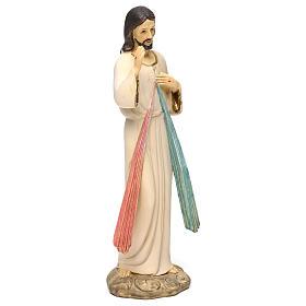 Jesús Misericordioso 21 cm estatua resina s4