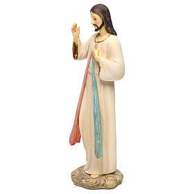 Jezus Miłosierny 21 cm figura żywica s3