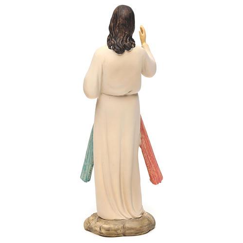 Jezus Miłosierny 21 cm figura żywica 5