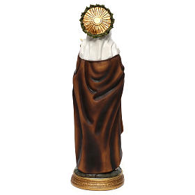 Santa Caterina da Siena 40 cm statua resina s5
