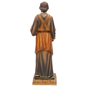 St. Joseph carpenter statue in resin 43 cm s5
