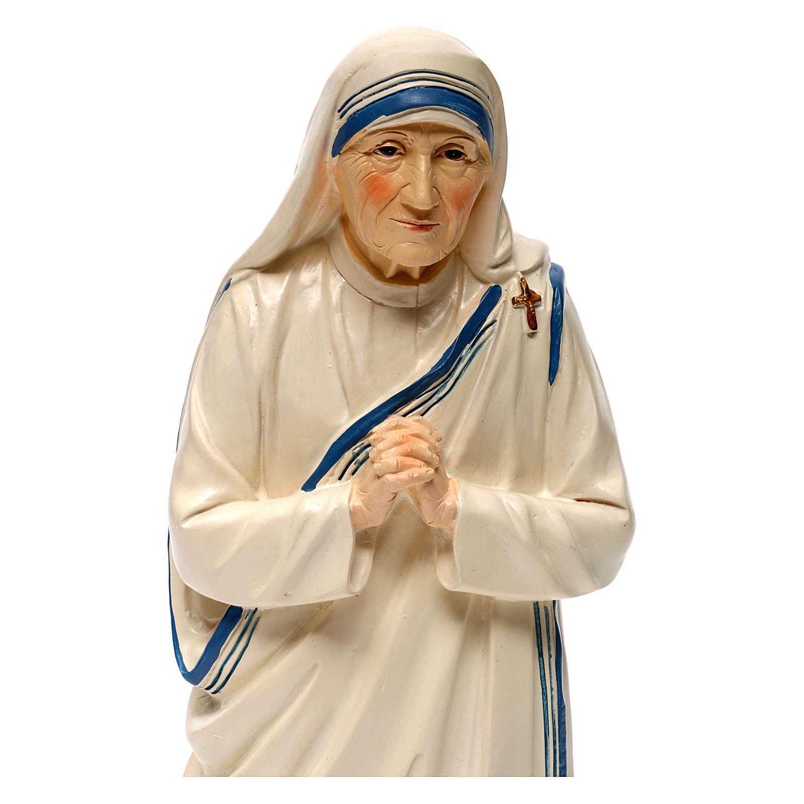 Madre Teresa de Calcuta 30 cm estatua resina 4