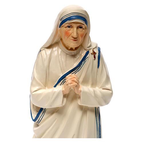 Madre Teresa de Calcuta 30 cm estatua resina 2