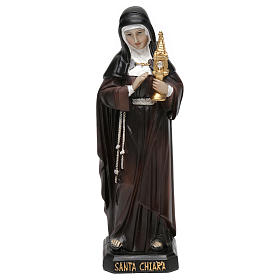 Resin & PVC statues: St. Clare 20 cm resin statue