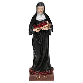 St. Rita statue in resin 20 cm s1