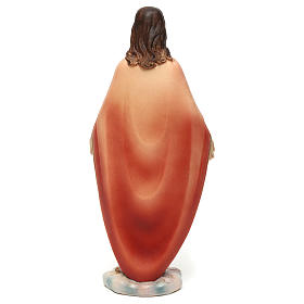 Statue en résine Sacré-Coeur de Jésus 20 cm s5