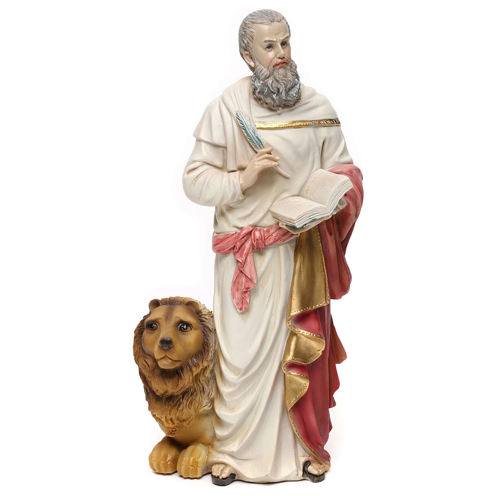 San Marco Evangelista 30 cm estatua de resina 4