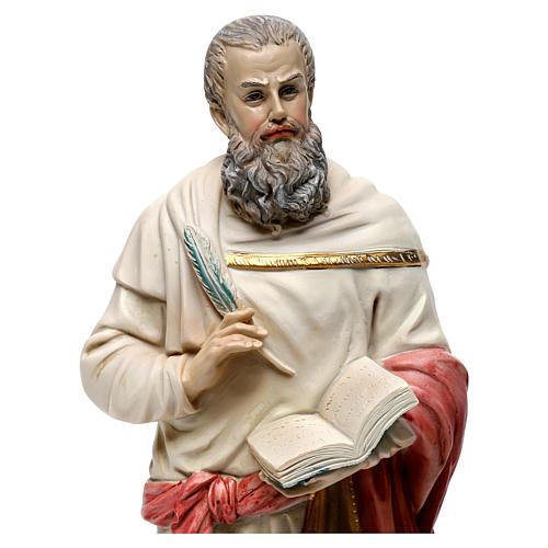 San Marco Evangelista 30 cm statua in resina 2