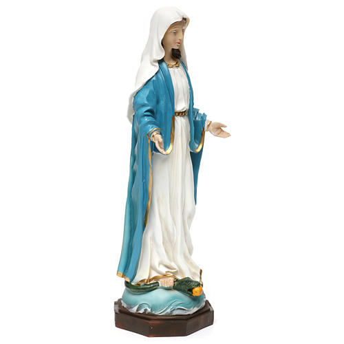 Statue Vierge Immaculée 40 cm résine 4