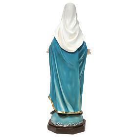 Statua Madonna Immacolata 40 cm resina s5