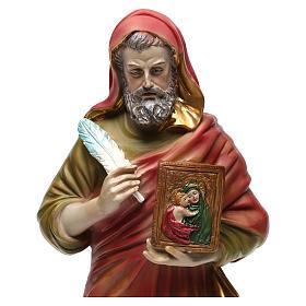 San Luca Evangelista 30 cm statua in resina s2